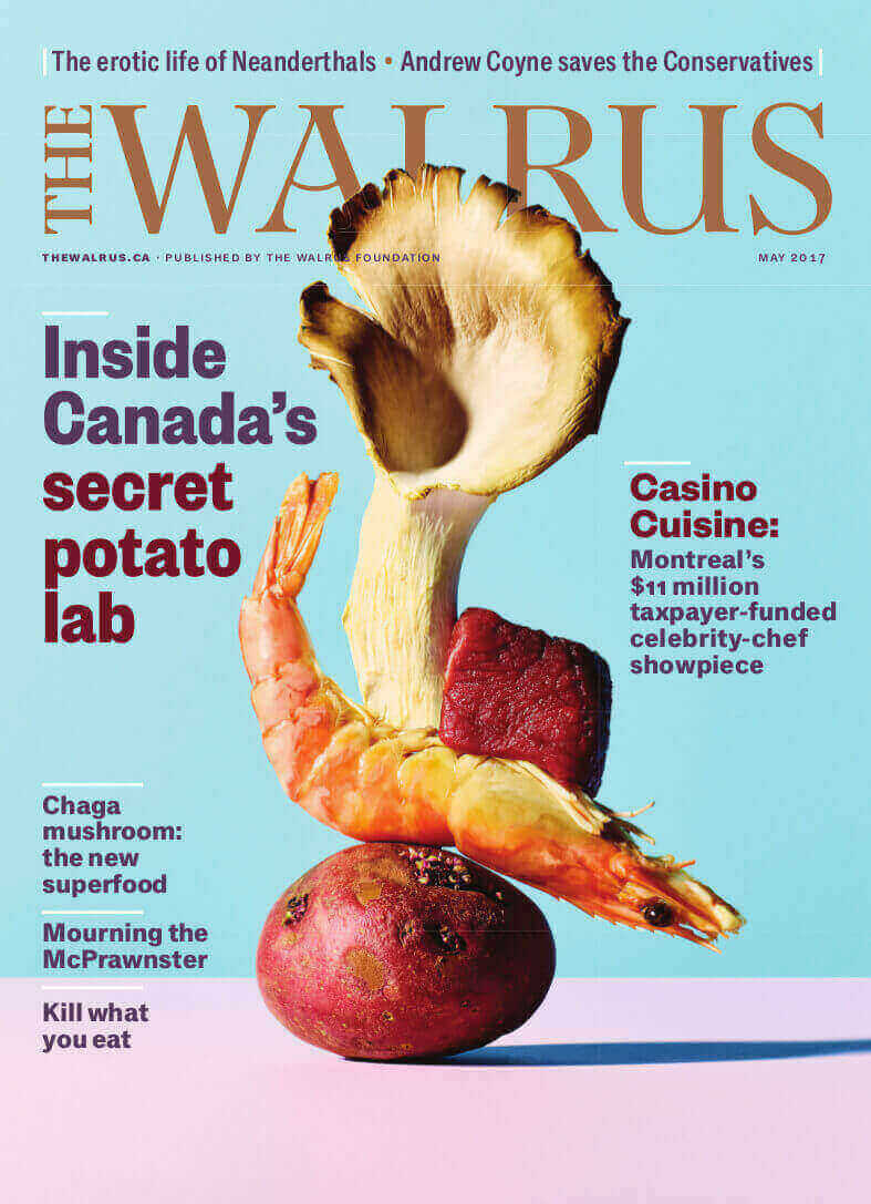 Walrus Magazine cover