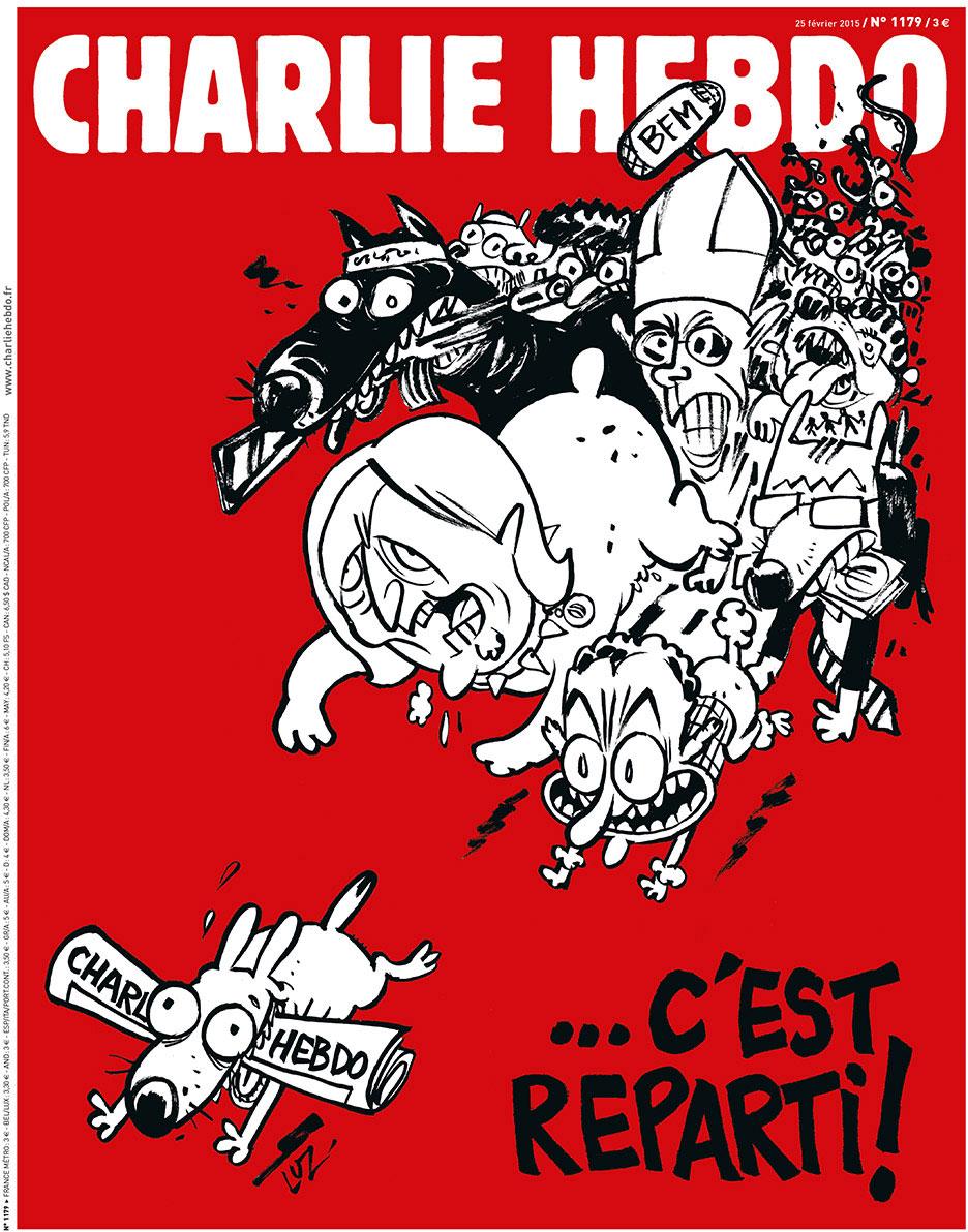 Artwork courtesy of charliehebdo.fr