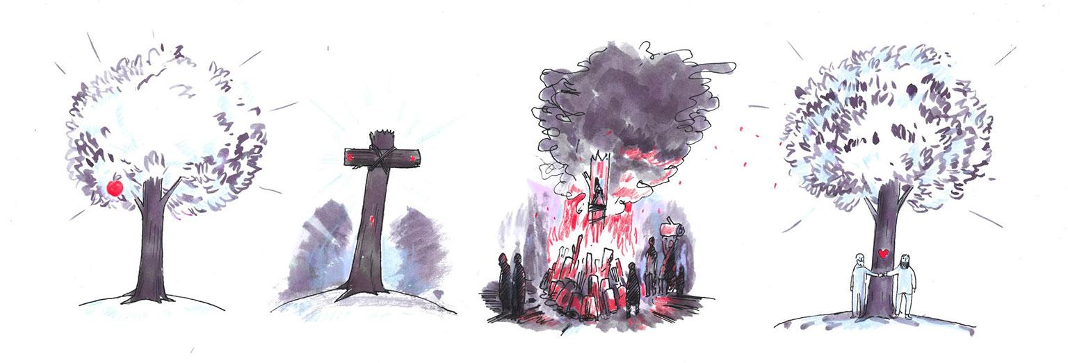Illustration by Graham Roumieu