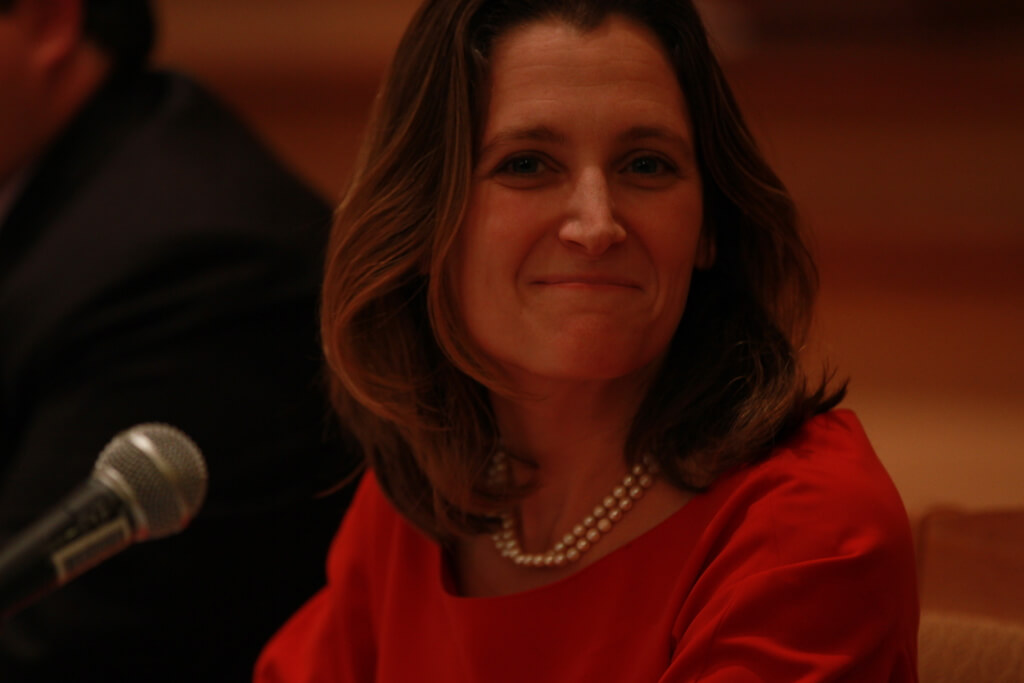 Freeland - Reporting in new Cold War