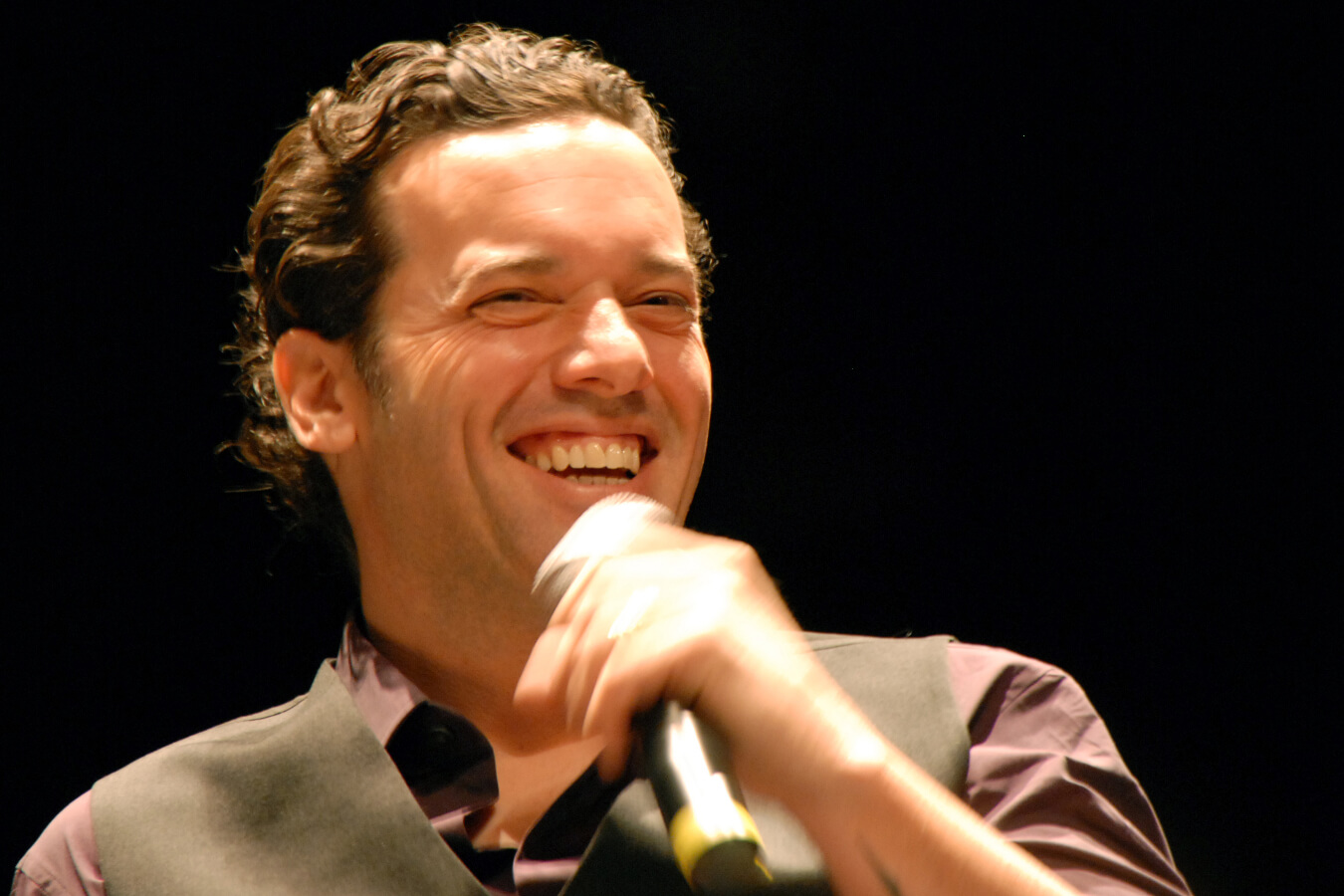 Canadian author Joseph Boyden