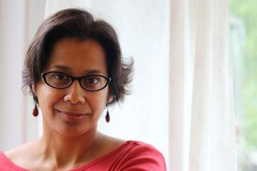 Soraya Peerbaye, author of Tell.