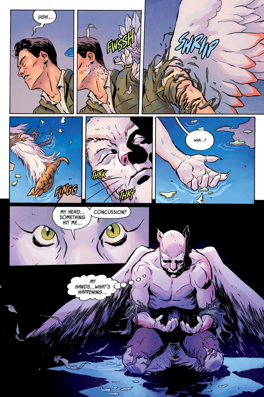 Illustration by Johnnie Christmas; Colours by Tamra Bonvillain