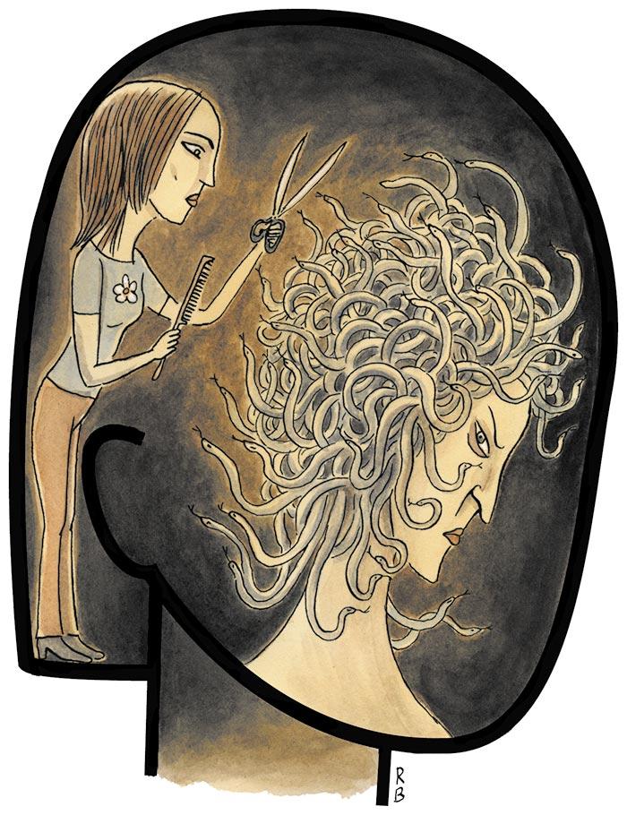 Illustration by Roxanna Bikadoroff