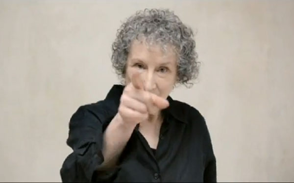 A Few Quiet Words from Margaret Atwood