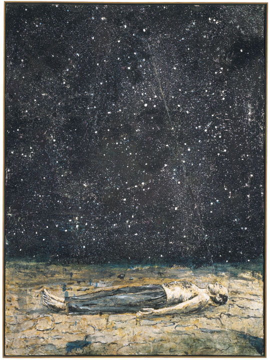 Painting by Anselm Kiefer