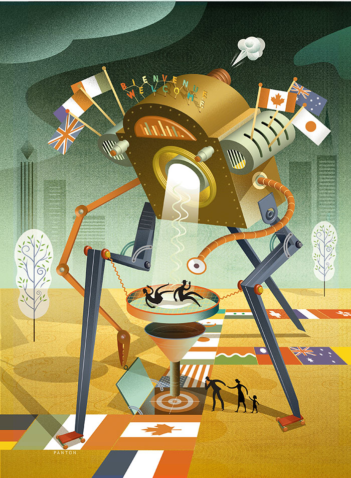 Illustration by Doug Panton
