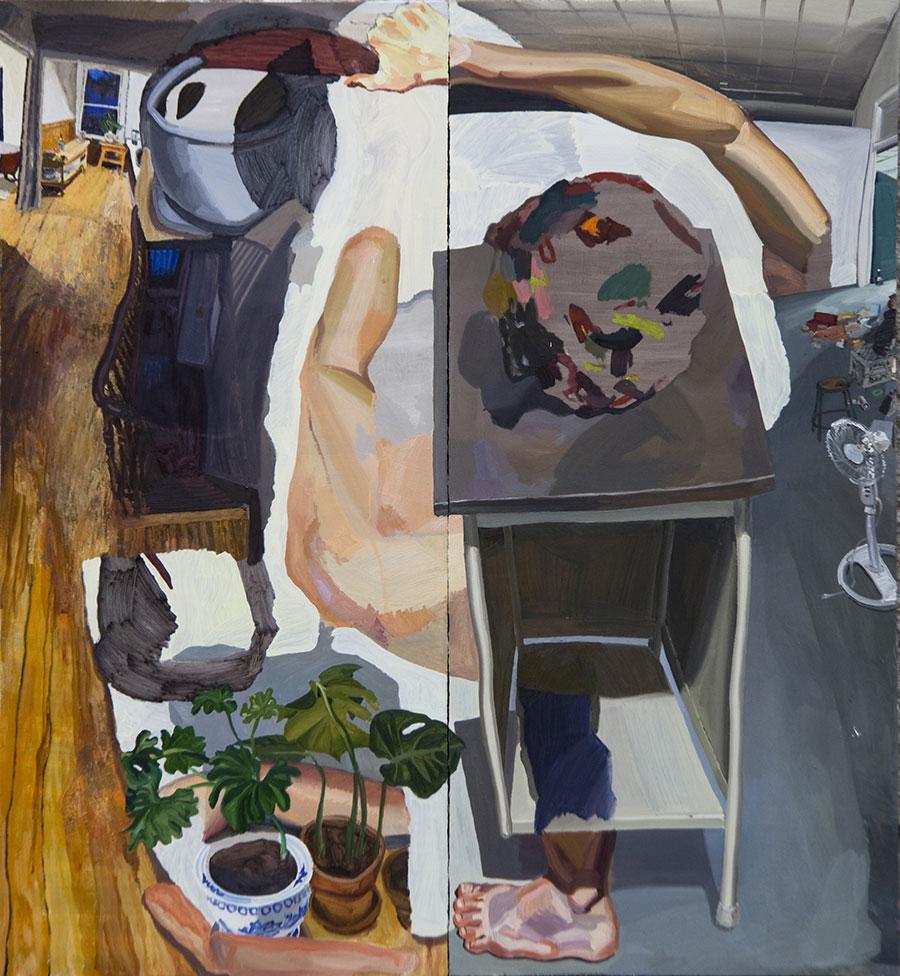Painting by Colin Muir Dorward