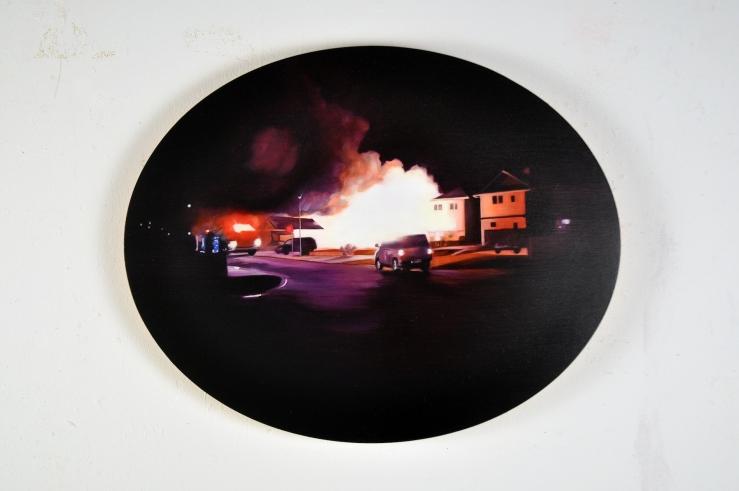 Painting by Corri-Lynn Tetz