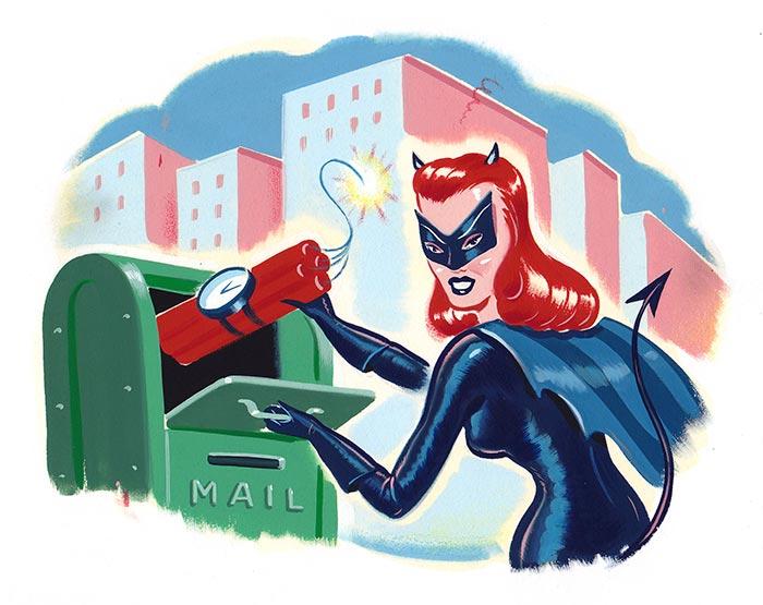 Illustration by Ryan Heshka