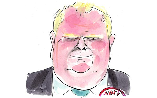 The Many Faces of Rob Ford