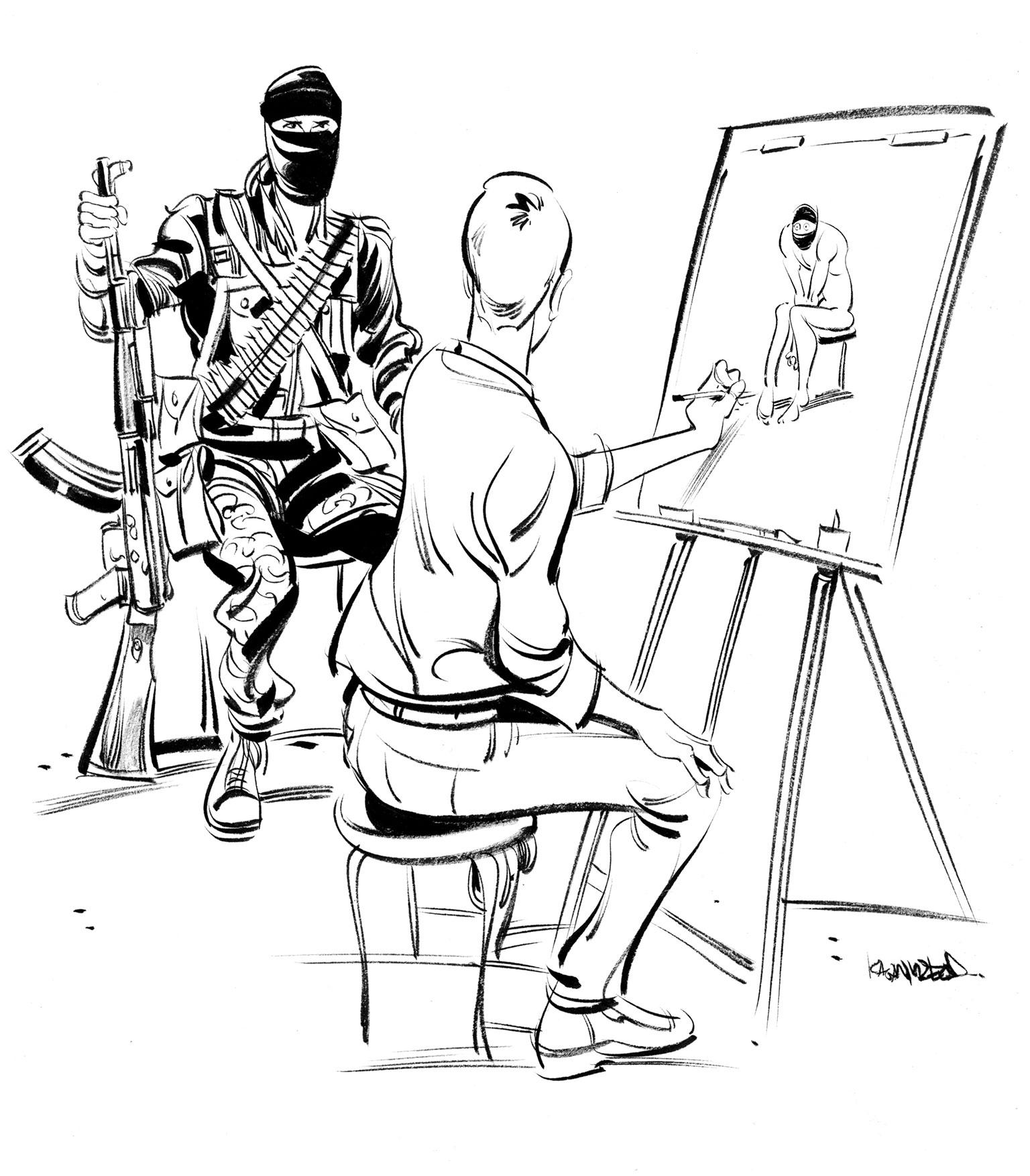 Illustration by Kagan McLeod