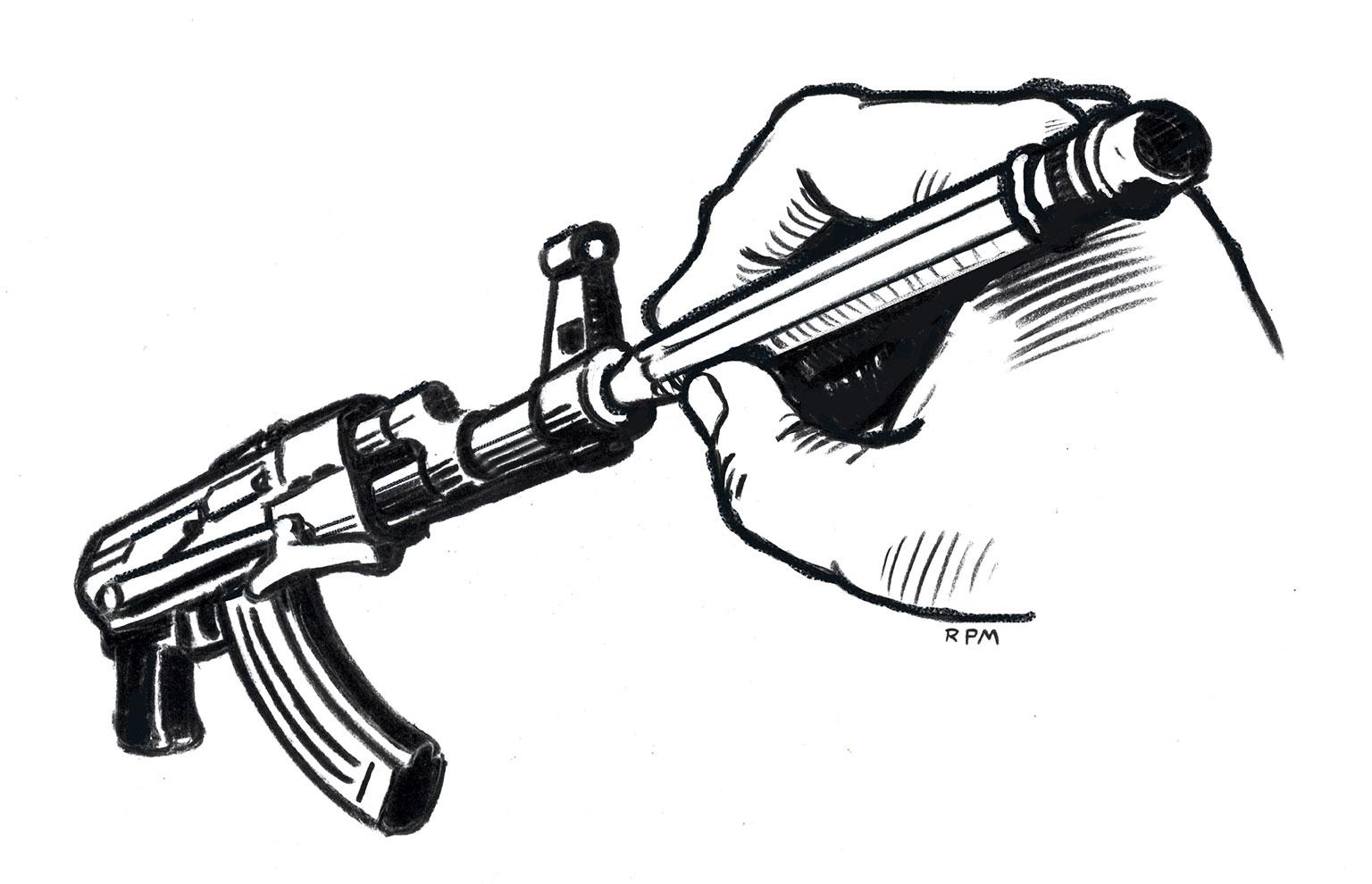Illustration by Ross MacDonald