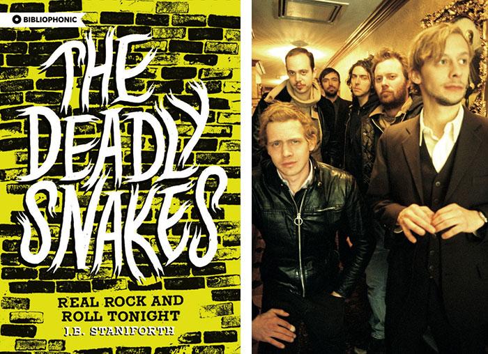 The Deadly Snakes/Band photo by Jannie McInnes