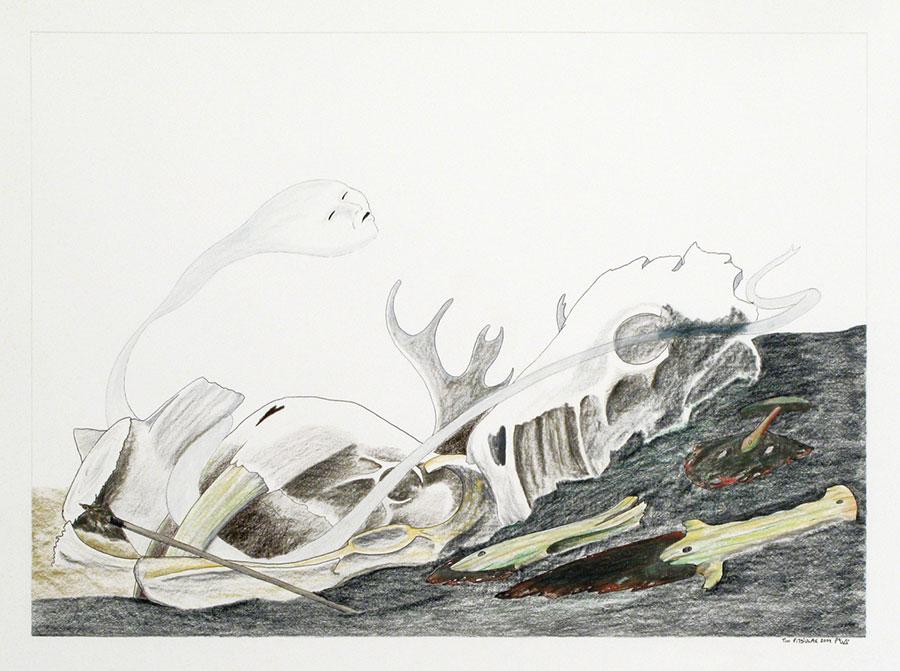 Artwork by Tim Pitsiulak
